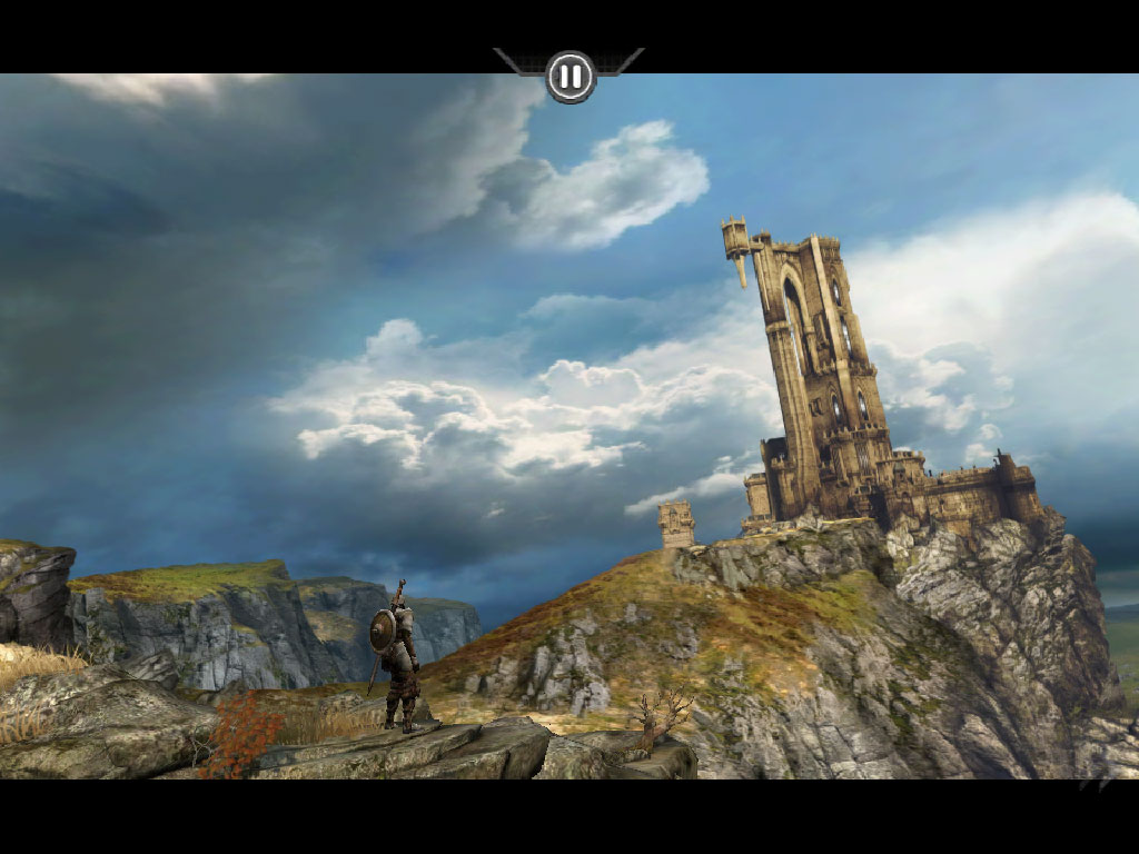 Infinity Blade for iPhone 3GS, iPhone 4, iPod touch (3rd generation), iPod touch (4th generation), and iPad on the iTunes App Store