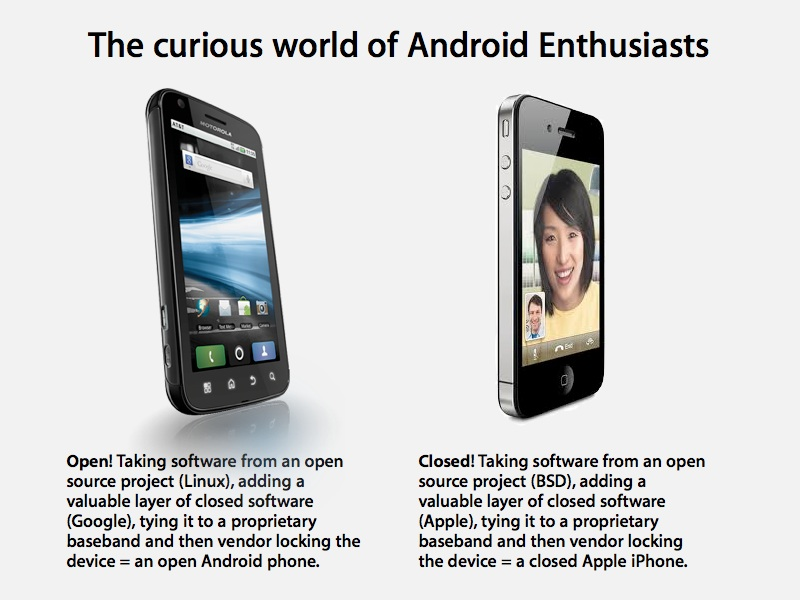 Apple's iPhone and the Curious World of Android Enthusiasts — RoughlyDrafted Magazine