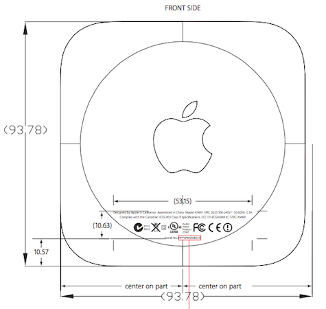 Apple TV FCC