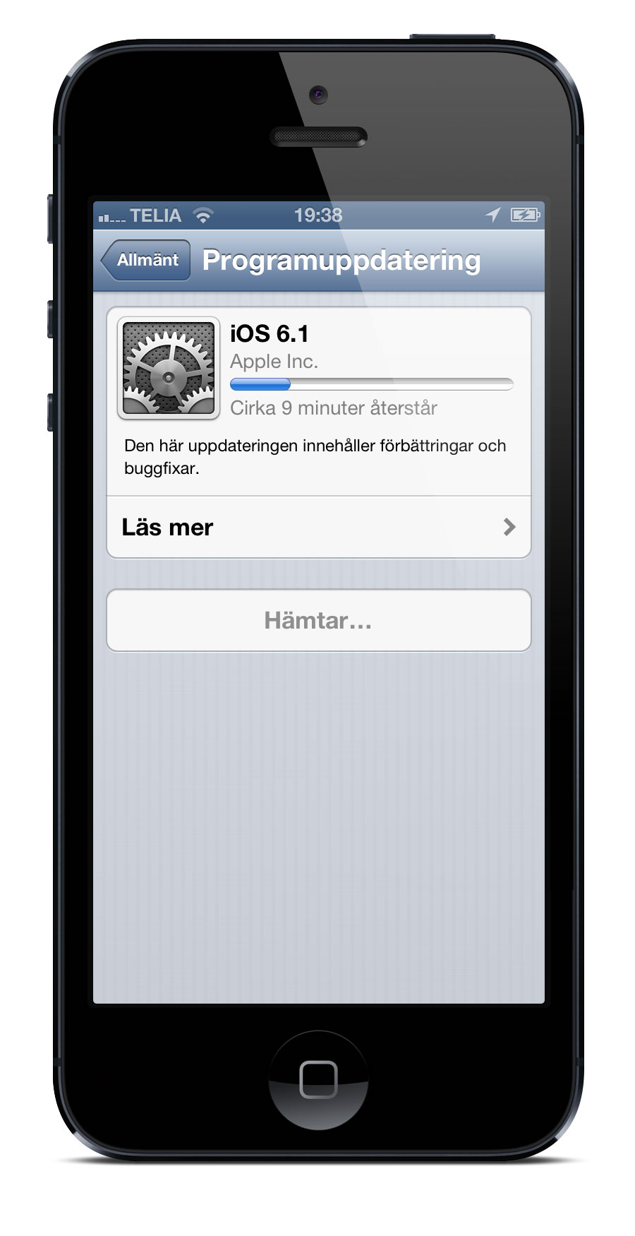 iOS 6.1 iPhone 5
