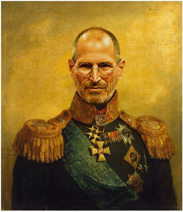 This Portrait Of Russian General Steve Jobs Is Now Ready To Grace Your Living Room | Cult of Mac