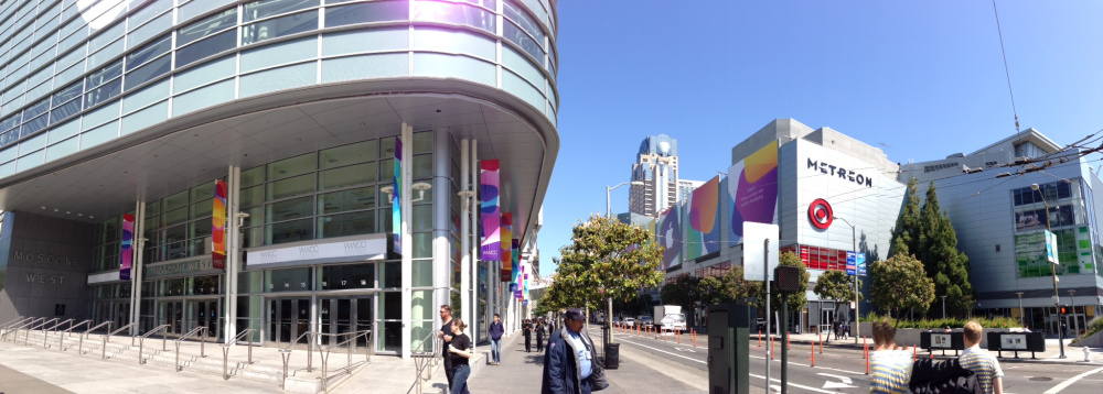 Apple WWDC Metreon