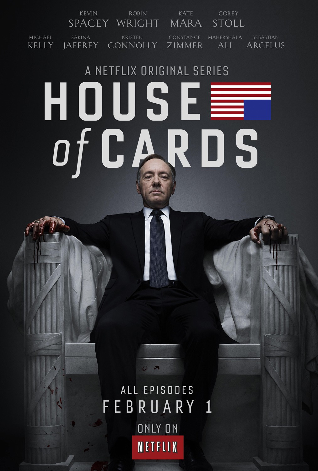 Netflix House of Cards poster