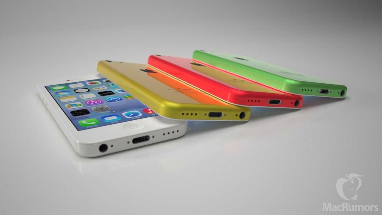 iPhone 5C rendering