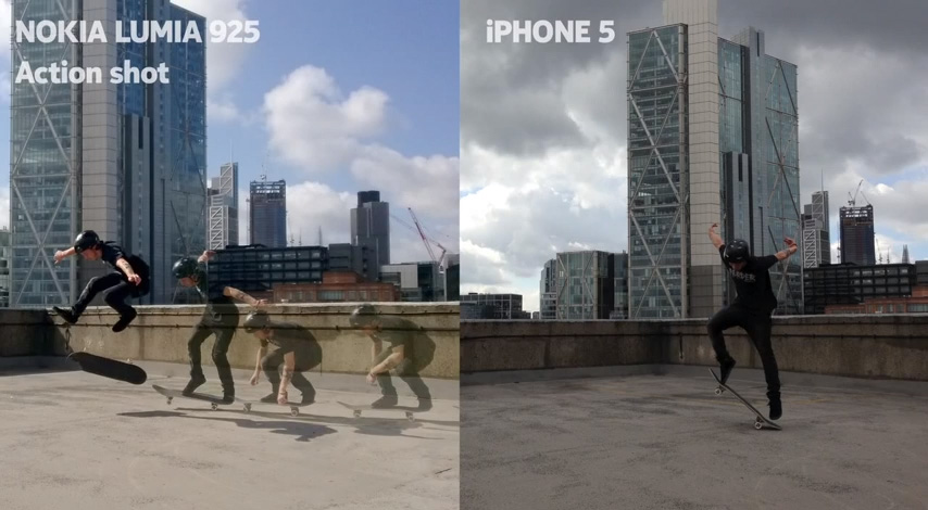 Nokia Lumia 925 vs iPhone 5