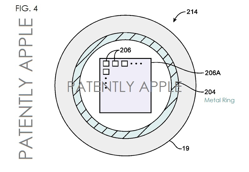 iPhone home button patent