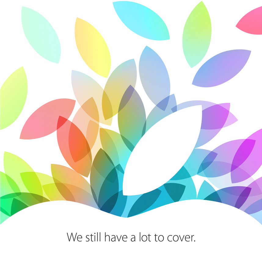 Apple october 22 invitation