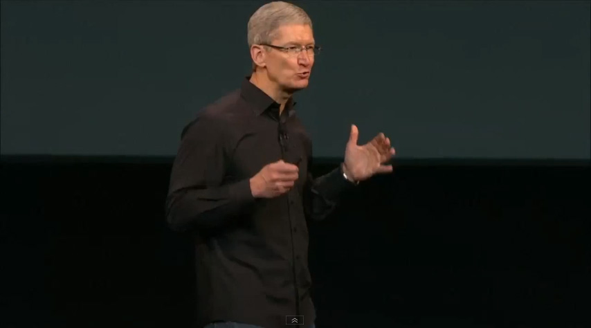 Tim Cook incredible
