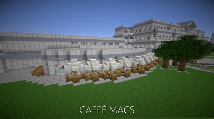 Apple Campus Minecraft