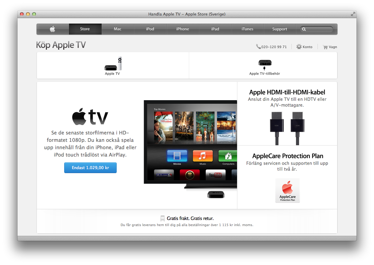 Apple TV - Apple Store