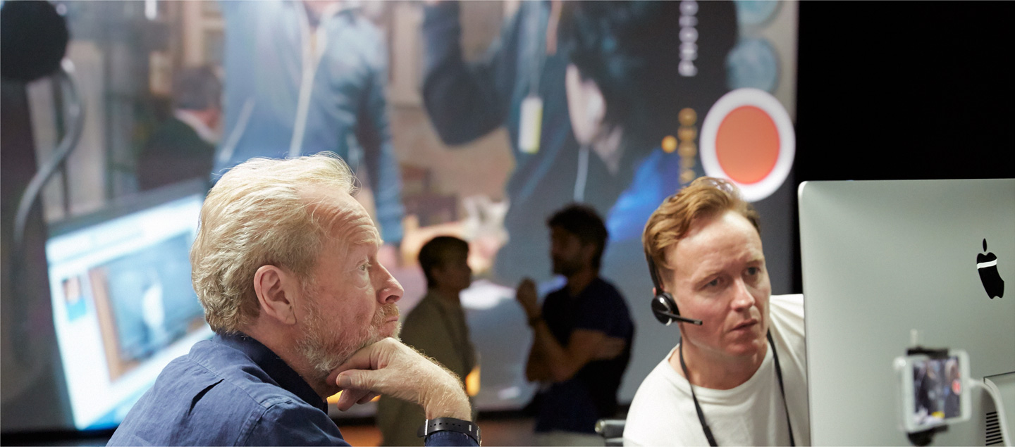 Ridley Scott och Jake Scott