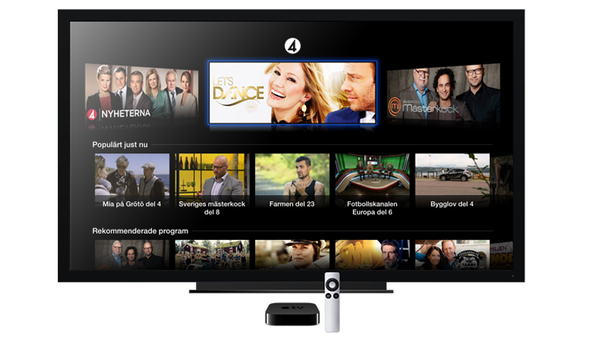 TV4 Play i Apple TV