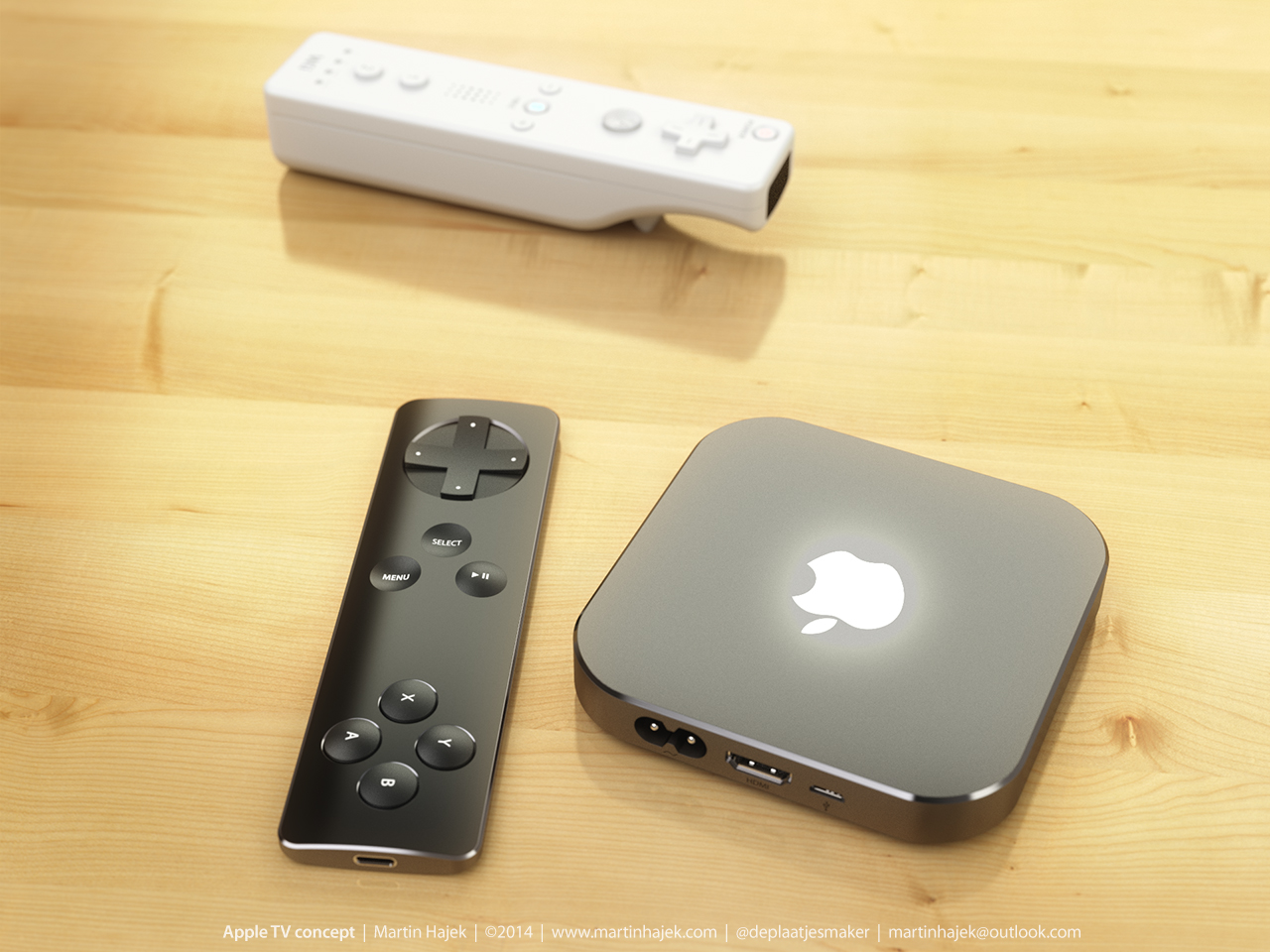 Apple TV koncept