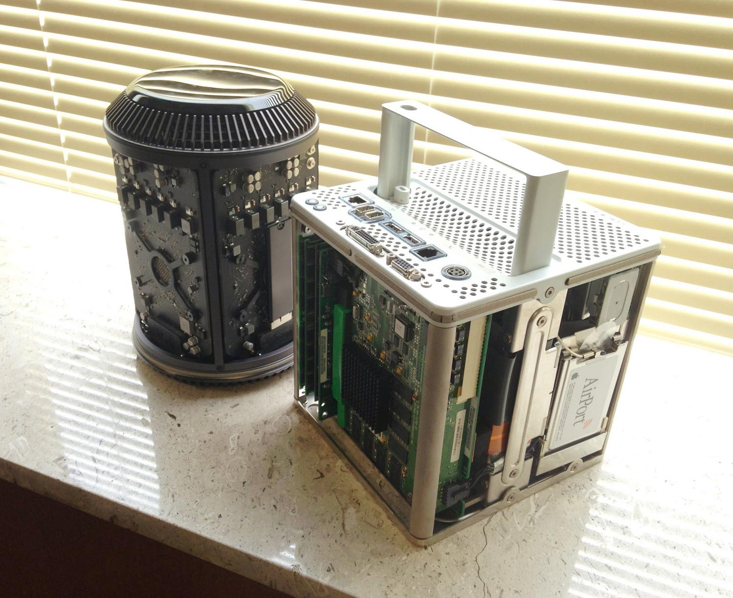 Mac Pro and Mac Cube