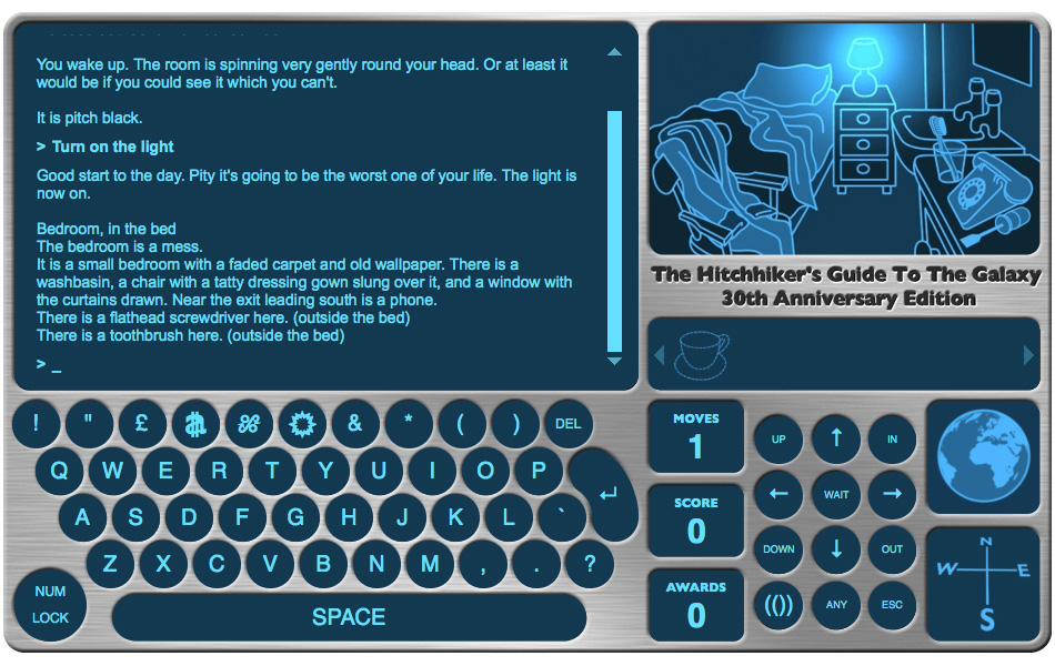 The Hitchhiker's Guide to the Galaxy - The Hitchhiker's Guide to the Galaxy Game - 30th Anniversary Edition