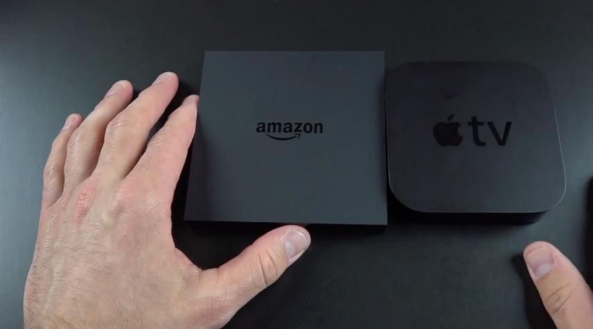 Amazon Fire TV och Apple TV