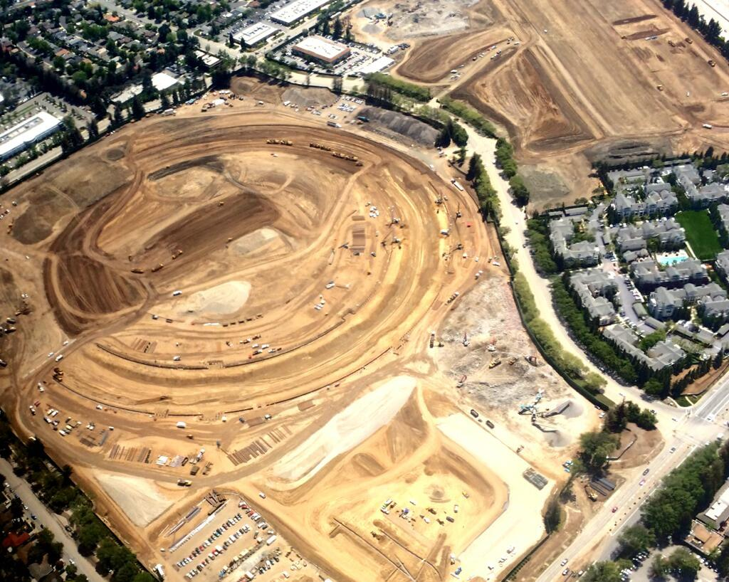Apple Campus 2 markjobb