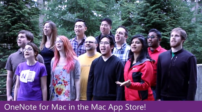 OneNote Mac - The Song