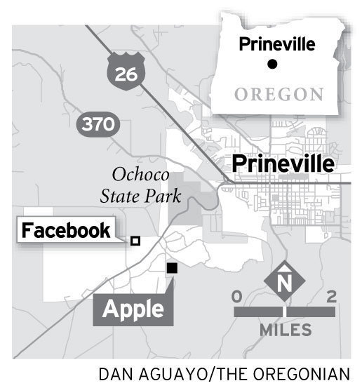 Apple Prineville Oregon datacenter