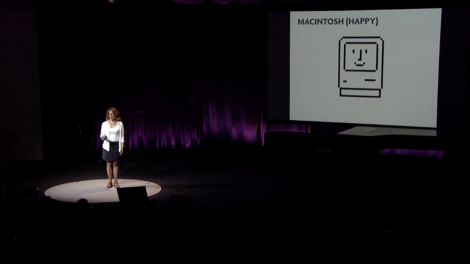 Susan Kare Happy Mac