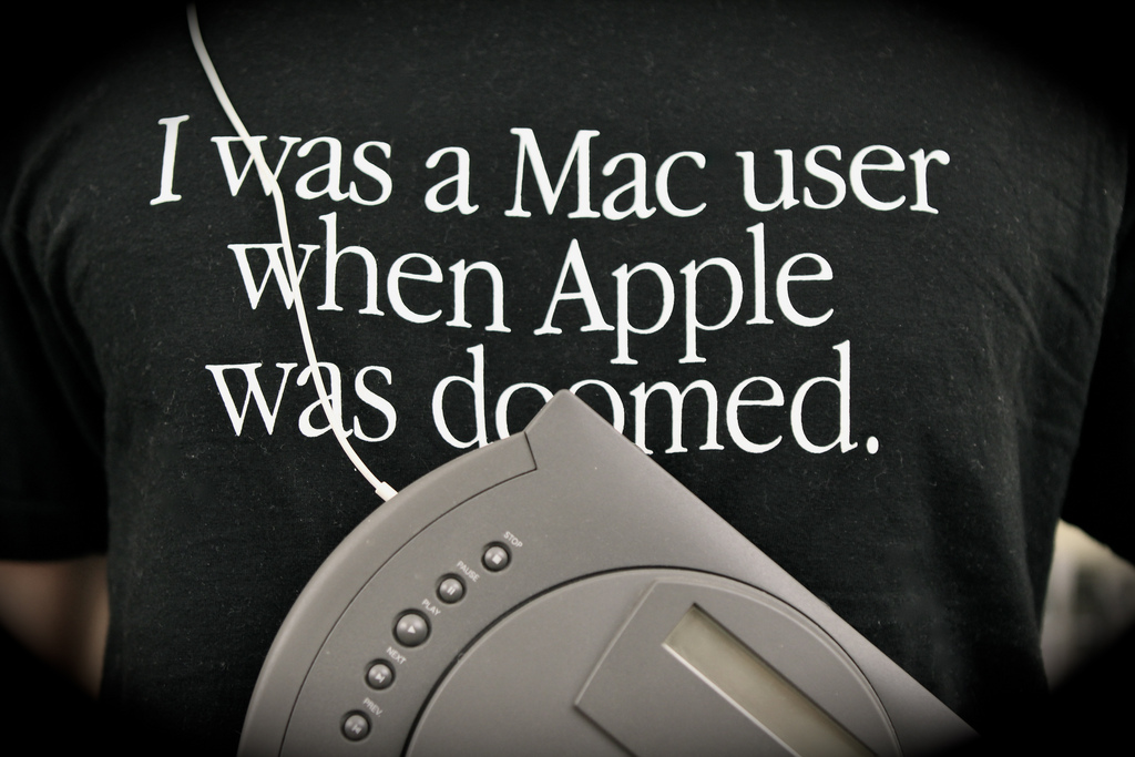 I was a Mac user when Apple was doomed