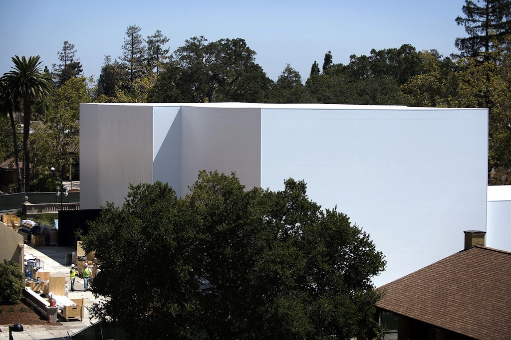 Here's the mystery building Apple is crafting for its big reveal | Cult of Mac