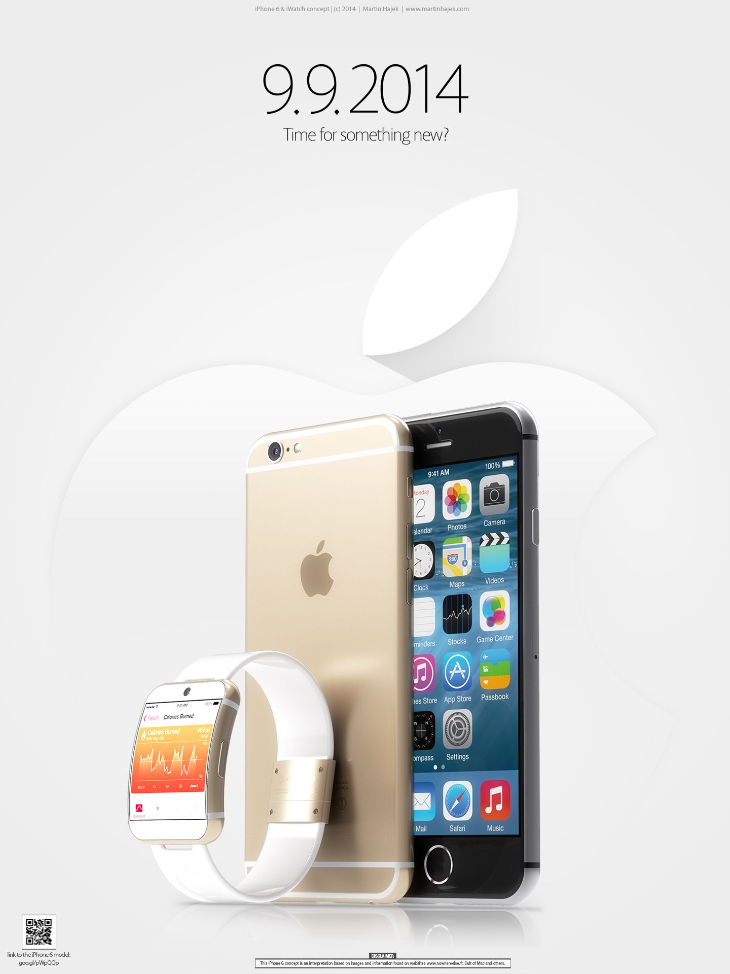 iPhone 6 iWatch Martin Hayek