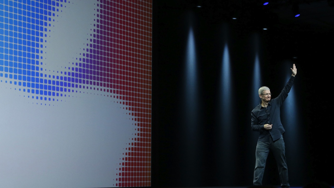 Tim Cook Apple Keynote