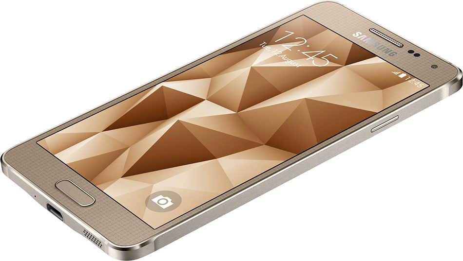 Samsung Galaxy Alpha Gold