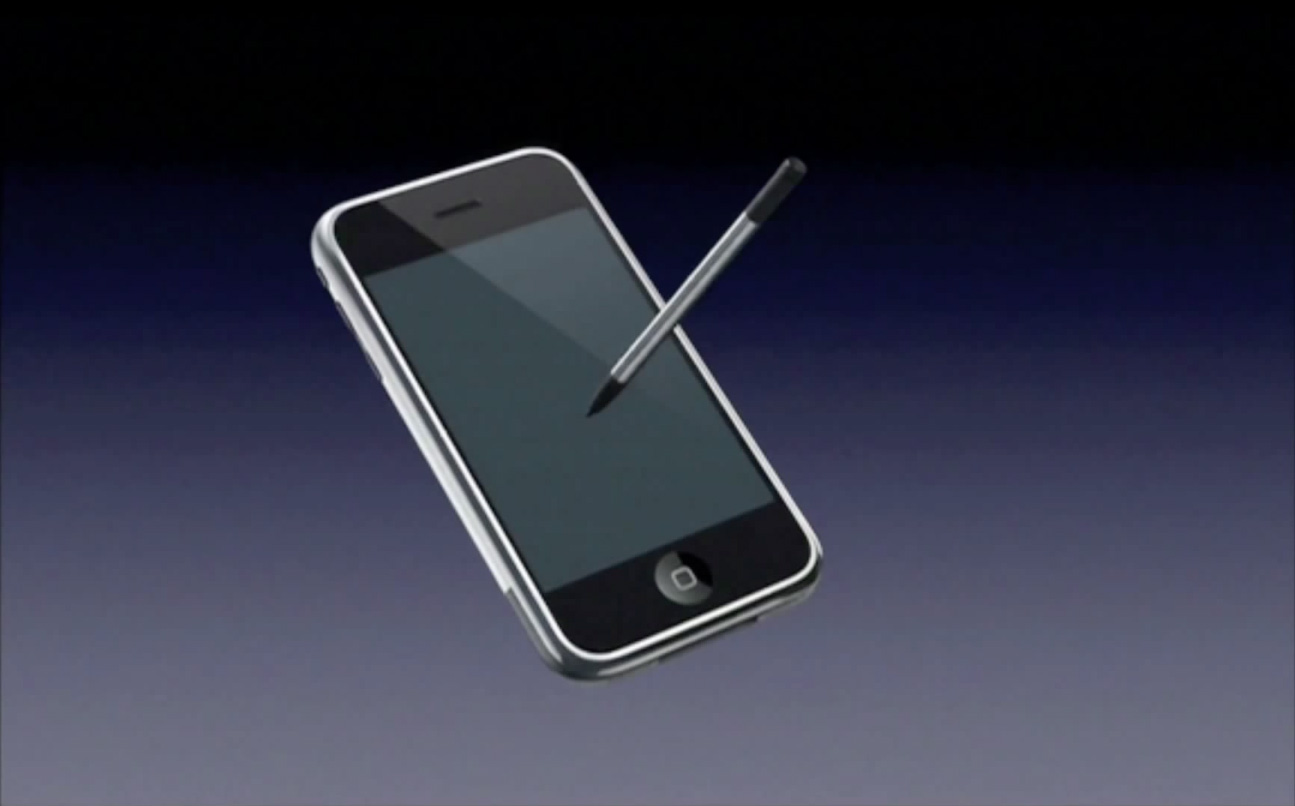 Apple iPhone stylus