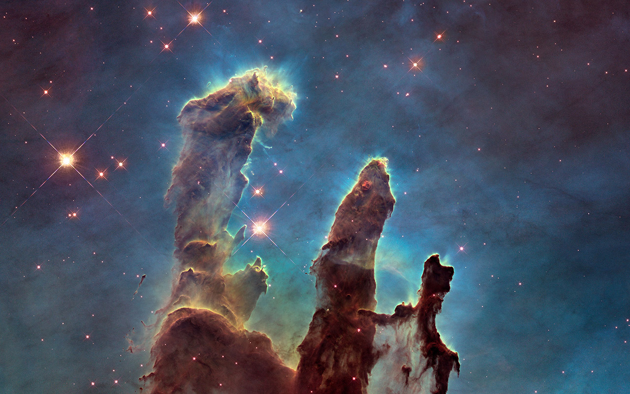 Hubble Pillars of Creation