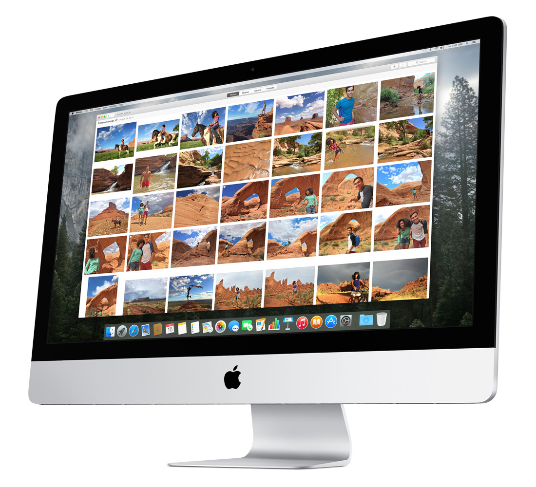 Apple Photos iMac