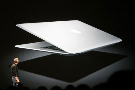 MacBook Air Steve Jobs