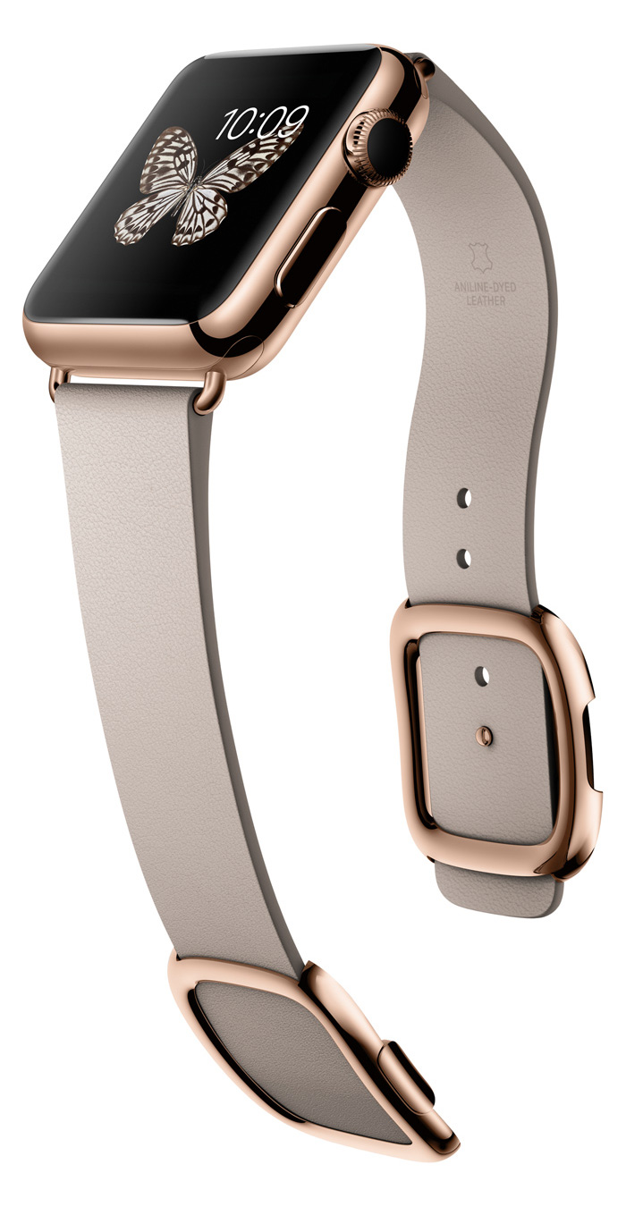 Apple Watch rosa guld