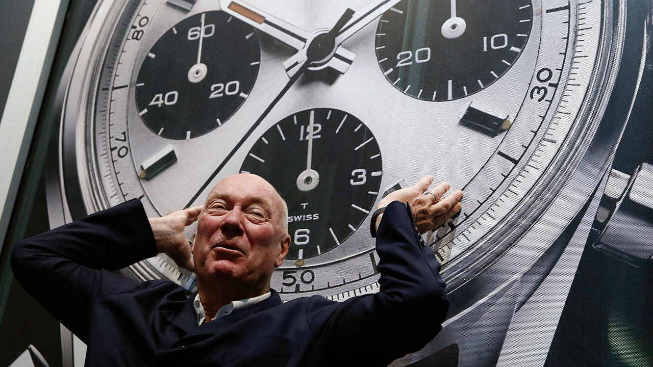 Biver TAG Heuer CEO