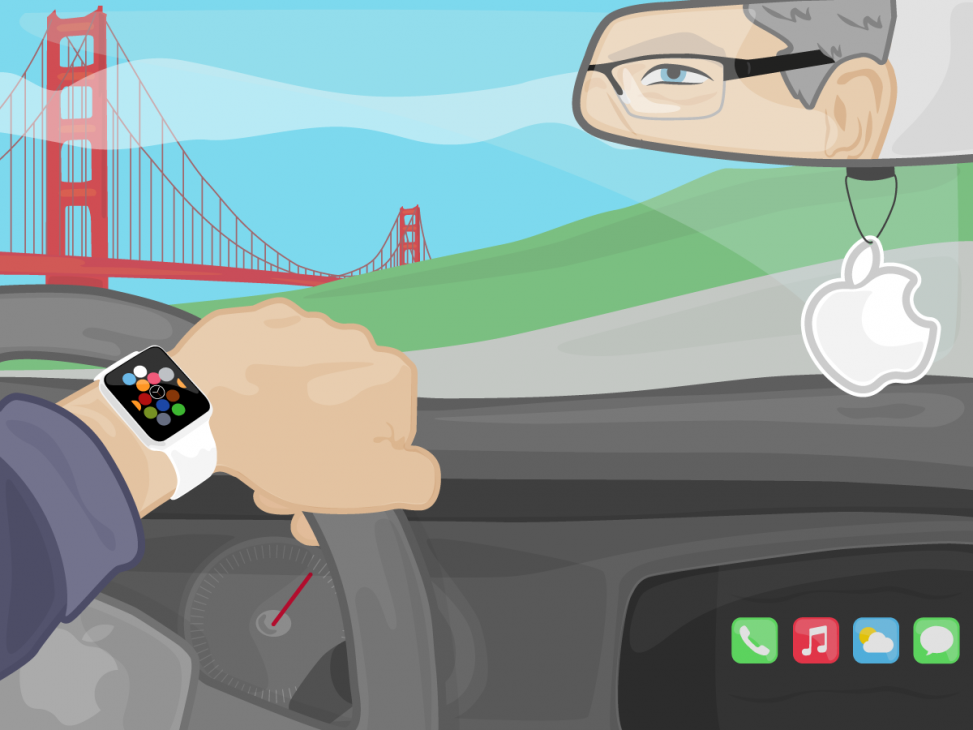 Apple Watch CarPlay