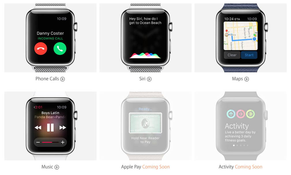 AppleWatch Guided Tours