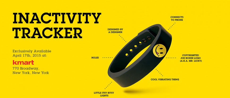 Joe Boxer Inactivity Tracker