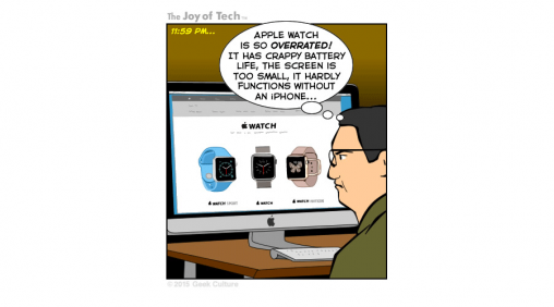 The Joy of Tech comic