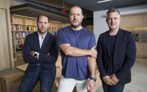 Alan Dye, Jony Ive, Richard Howarth