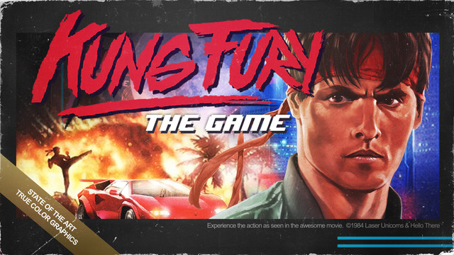 Kung Fury the game