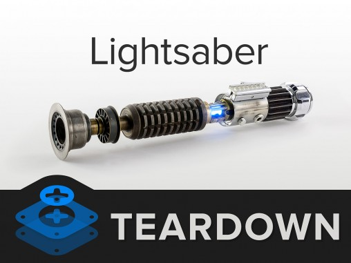 Lightsaber Teardown
