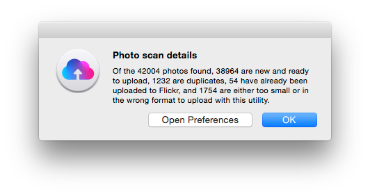 OS X Flickr uploader