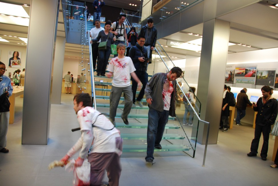 Zombies love Apple