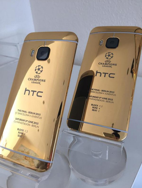 HTC One M9 Gold iPhone