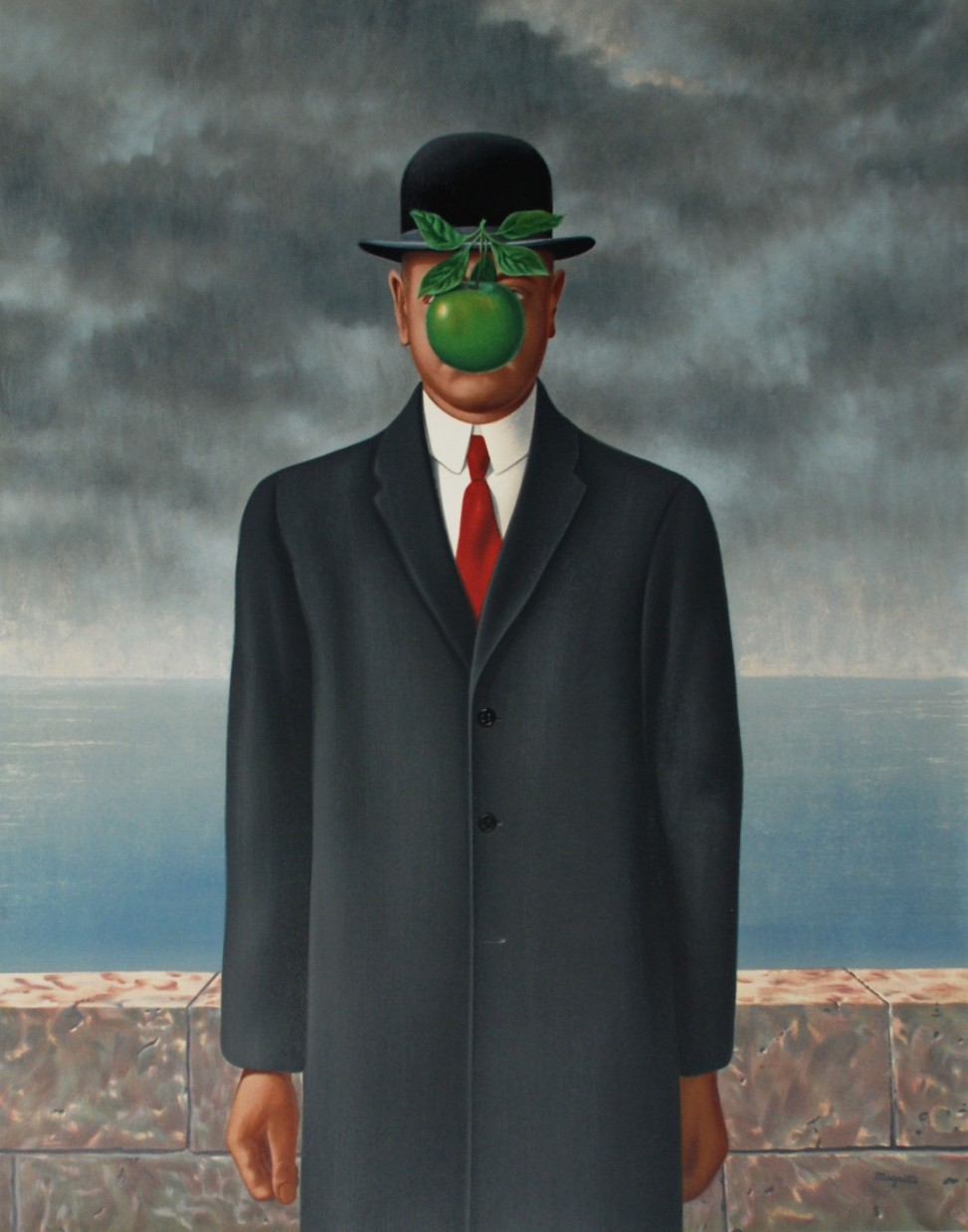 The Son of Man by Rene Magritte