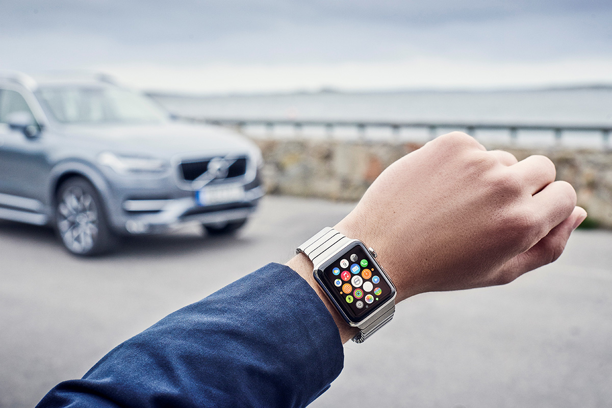 Volvo On Call Apple Watch