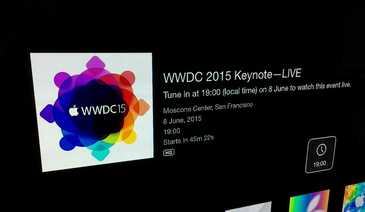 Apple WWDC15 Keynote Live