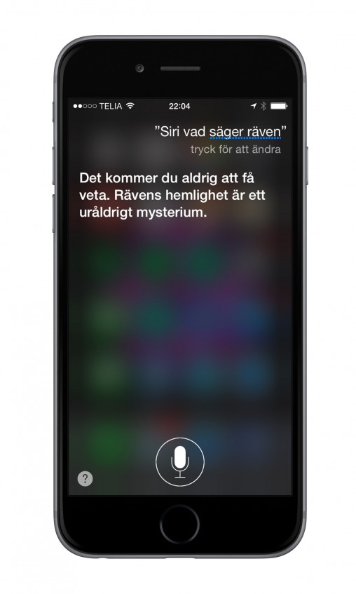 iPhone 6 Siri