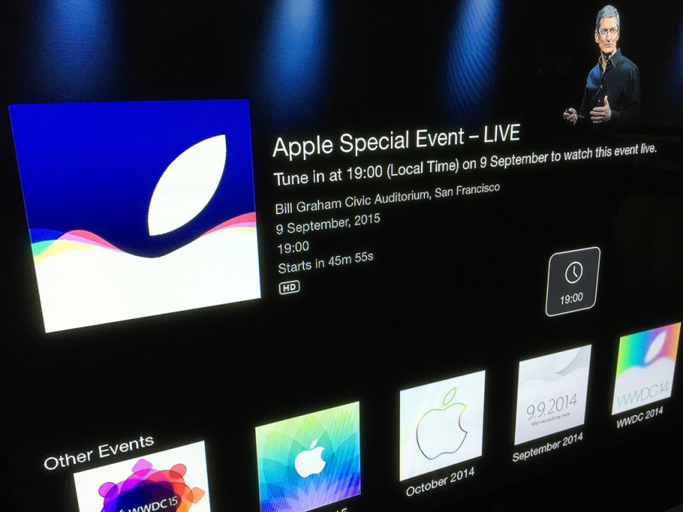 Apple Special Event September 2015